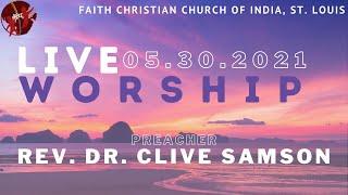 FCCIndia Live Worship 06/06/2021 | FCCI St. Louis