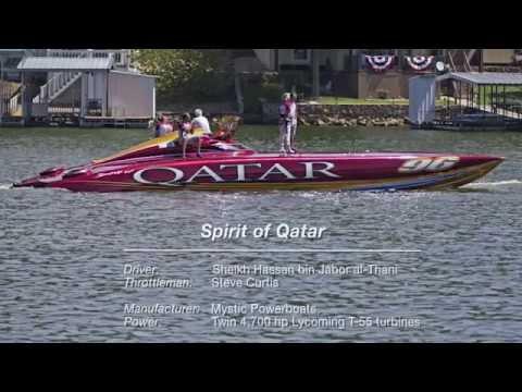 Spirit of Qatar's 244 mph Run at the 2014 Lake of the Ozarks Shootout
