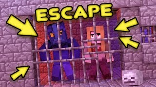 Minecraft | ESCAPE OR DIE! - Trapped On A Secret Island (Minecraft Escape Room Challenge)