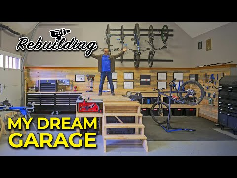 Rebuilding my garage workshop for woodworking and tinkering