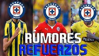 Nuevos Refuerzos Del Cruz Azul Para El Apertura 2018 - RUMORES