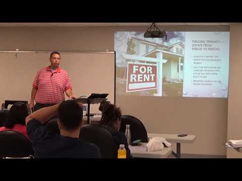 Ch 11 Pt 1 Landlord And Tenant Lease Types