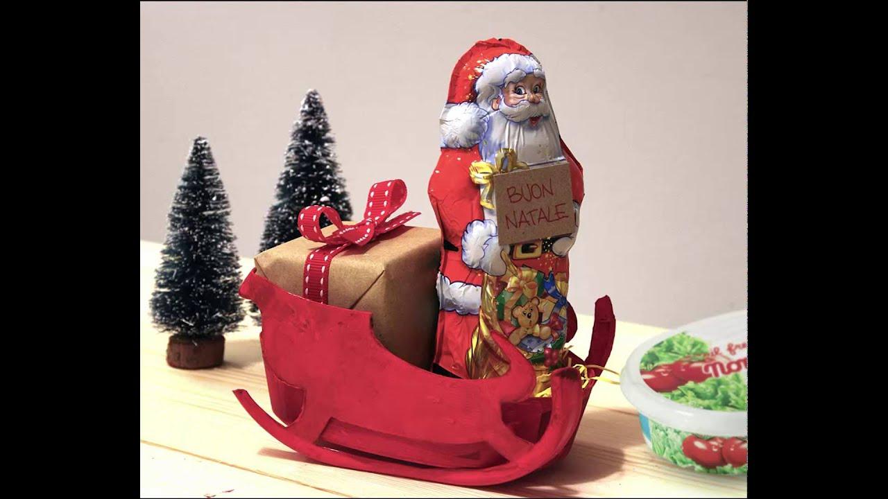 Slitta Di Babbo Natale Fai Da Te.Slitta Di Babbo Natale Con Il Fresco Spalmabile Youtube