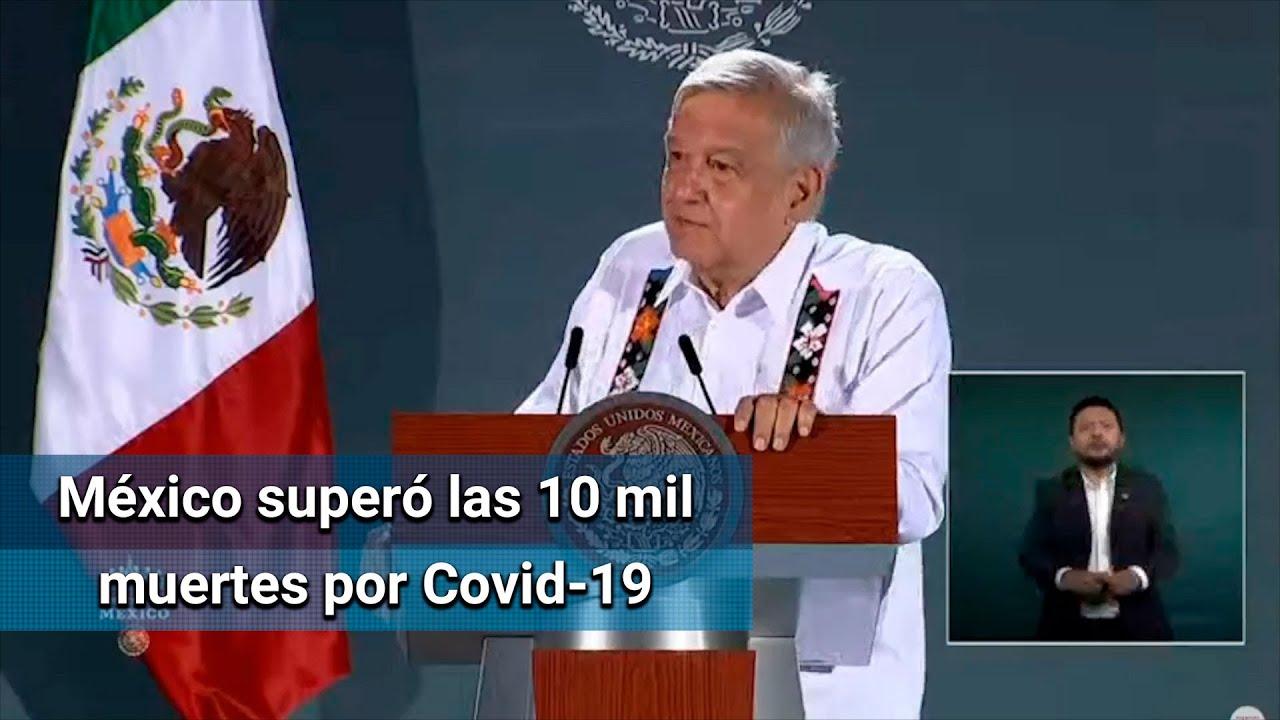 Se ha logrado controlar la pandemia de Covid-19 en México: AMLO