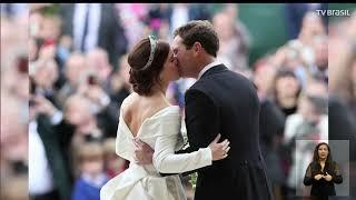 PrincesaEugenie se casa com Jack Brooksban em Widsor