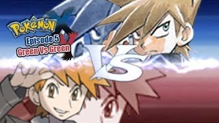 Pokemon X and Y WiFi Battle: Manga Green Vs Game Green