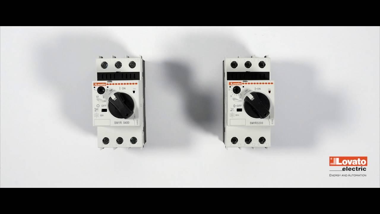 3 Tripping Protection Notification Sm Series Motor Circuit Breaker Keep How Breakers Work Youtube Premium