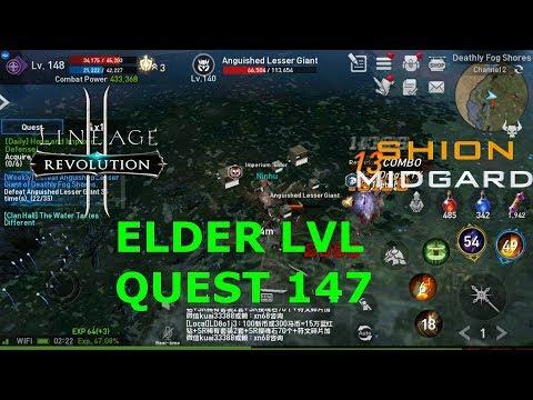 [Lineage2 Revolution] Elder LVL Quest 147