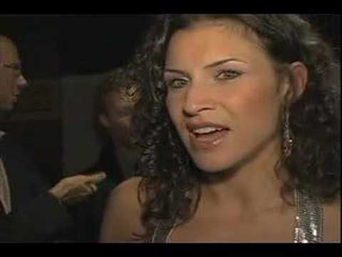 """Jenny Powers Interview """"Grease"""" Broadway Musical after-party"""