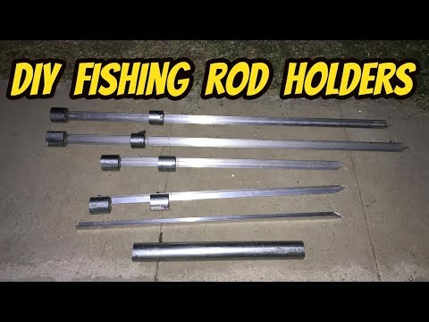Making Fishing Rod Holders