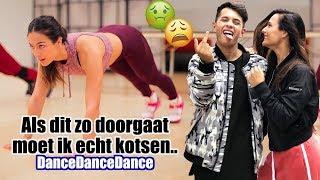 KAPOT gaan met VINCHENZO!🤢 || Wat je niet ziet op TV.. DANCEDANCEDANCE