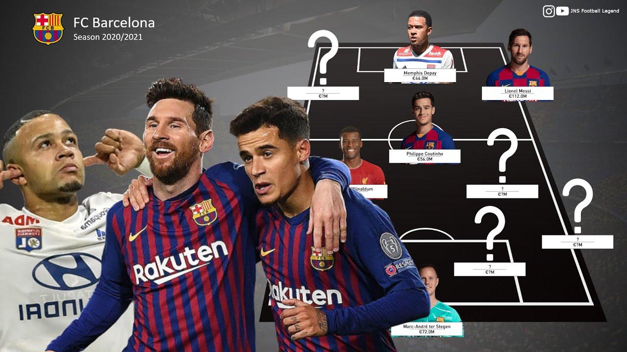 12+ Fc Barcelona 2021 Lineup