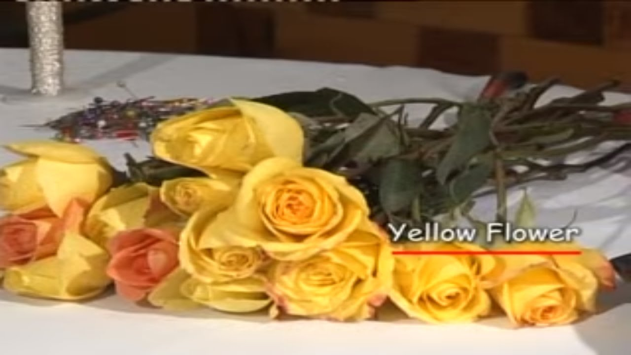 Flower Arrangement Yellow Roses By Ghazala Abdulla Life Skills
