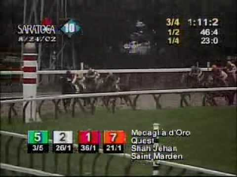 Medaglia D'Oro - 2002 Travers Stakes