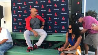 Alex Cora explains plan to rest Boston Red Sox starting players more in 2018