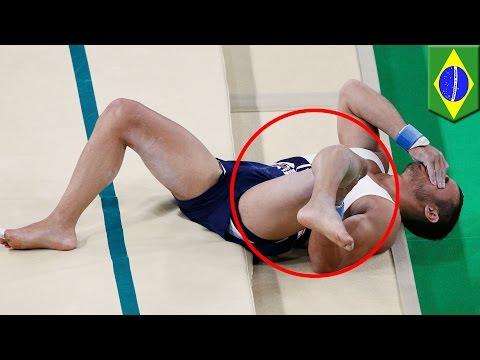 Berbagai cedera mengerikan di Olimpiade Rio 2016 - Tomonews