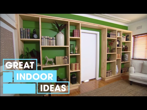 How To Build A Custom Wall Unit | Indoor |...