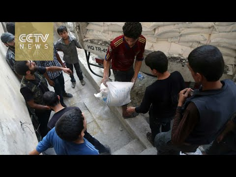 UN pushes Syrian government for immediate aid delivery to Aleppo