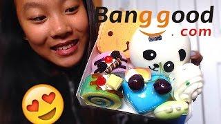 SLOW-RISING SQUISHIES?! BangGood.com Squishy Package #2!