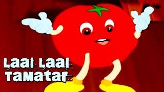 Chuhe Ne Khaya Laal Laal Tamatar || Hindi Animated Nursery Rhyme || Fun With Cartoon World ||