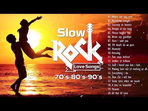 The Best Slow Rock Love Songs ll Nonstop Slow Rock 80s 90s Playlist