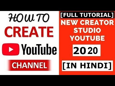 How To Create YouTube Channel 2019   New YouTube Creator Studio   Earn Money    Full Tutorial