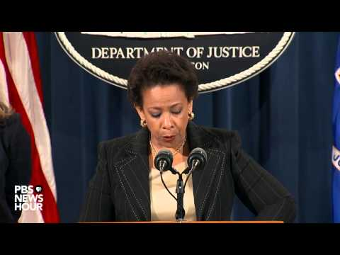 Attorney General Loretta Lynch speaks on Charleston, S.C. shooting
