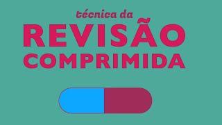 Como estudar e revisar melhor - TÉCNICA DA REVISÃO COMPRIMIDA thumbnail