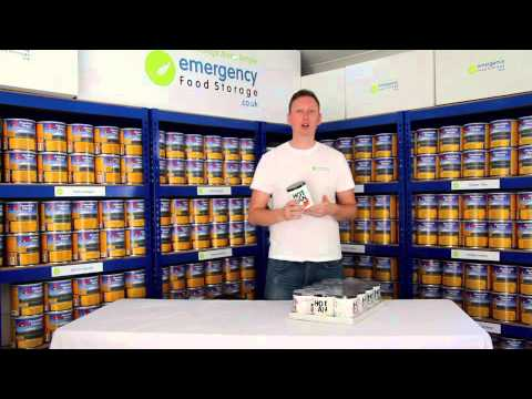 Hot Can Self Heating Emergency Food Overview