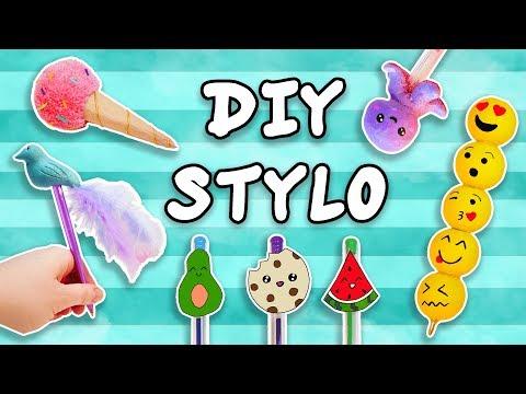 STYLOS PERSONNALISÉS DIY (DECORATIONS FACILES)