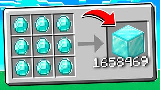 Minecraft MAIS les crafts se multiplient ! (ultra cheat !!!)