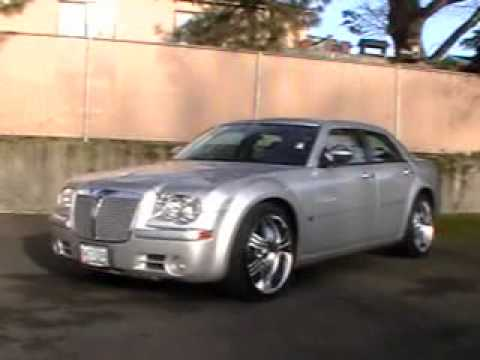 2005 Chrysler 300c 5 7l Hemi Custom Wheels Loaded Youtube
