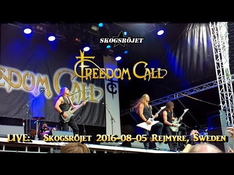 Freedom Call - Union of the Strong & Tears of Babylon, Skogs
