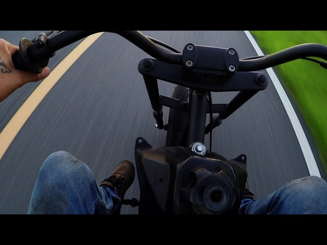 Cammed out Predator 420cc test run