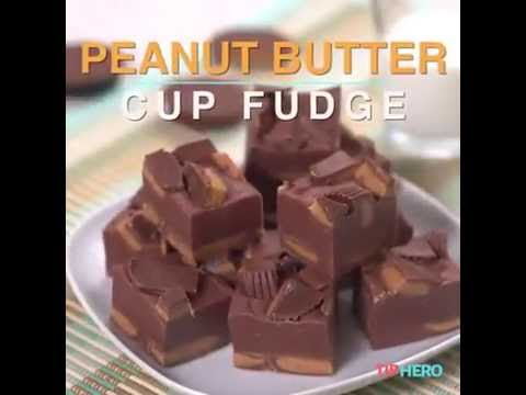 Download Youtube: PEANUT BUTTER CUP FUDGE // DULCE DE MANTEQUILLA DE MANÍ