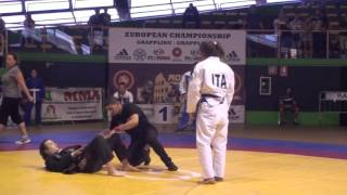 EGC2016 GRAPPLING GI 58KG - LUBRANO (ITA) VS KUPRINA (RUS)