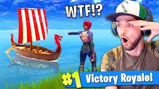 *NEW* VIKING SHIP in SEASON 5 of Fortnite: Battle Royale!