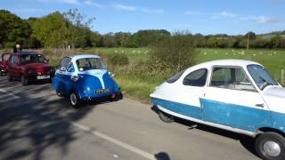 Isetta and Microcars, North Yorkshire, UK.
