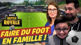 FORTNITE Coupe du Monde de Football ! Gameplay Fun en famille | Ejayremy / Family Geek