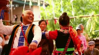 [舞蹈世界]彝族传统民间舞蹈《彝族跳菜》 表演:鲁朝金 等| CCTV综艺 - YouTube
