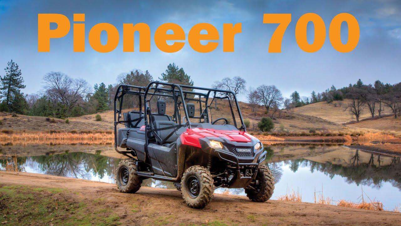 2016 Honda Pioneer 700 4 Test Drive & First Impressions