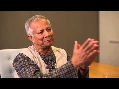 Dr. Muhammed Yunus Interview, hosted by Andrew Young, CSI