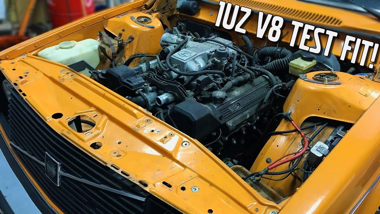Removing the B20 & 1UZ Test Fit - Volvo 245L 1UZ V8 Project [EP3]