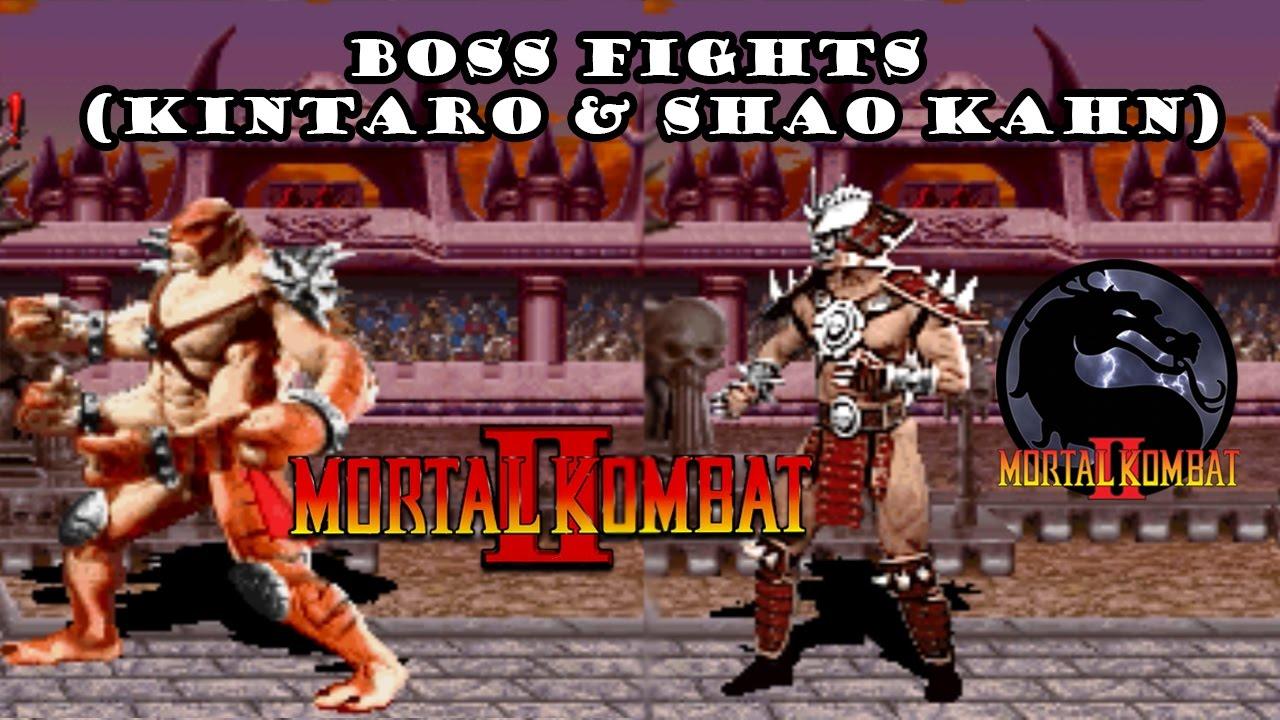 Download Mortal Kombat 2 - Boss Fights (Kintaro & Shao Kahn)
