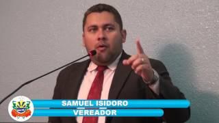 Samuel Isidoro em Pronunciamento 07 04 2017