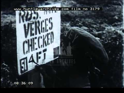 The city of Antwerp in Belgium and the Netherlands, during World War Two - Film 3179