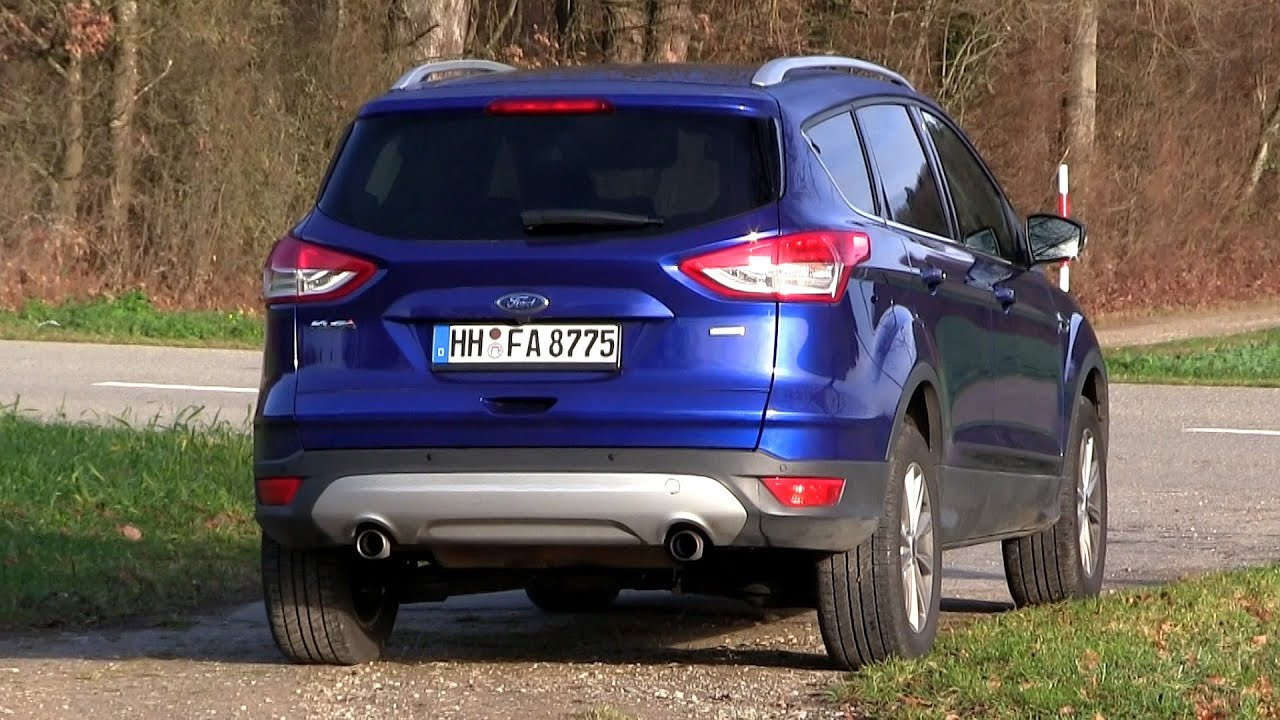 2015 ford kuga escape 1 5 ecoboost 4x4 182 hp test drive youtube. Black Bedroom Furniture Sets. Home Design Ideas