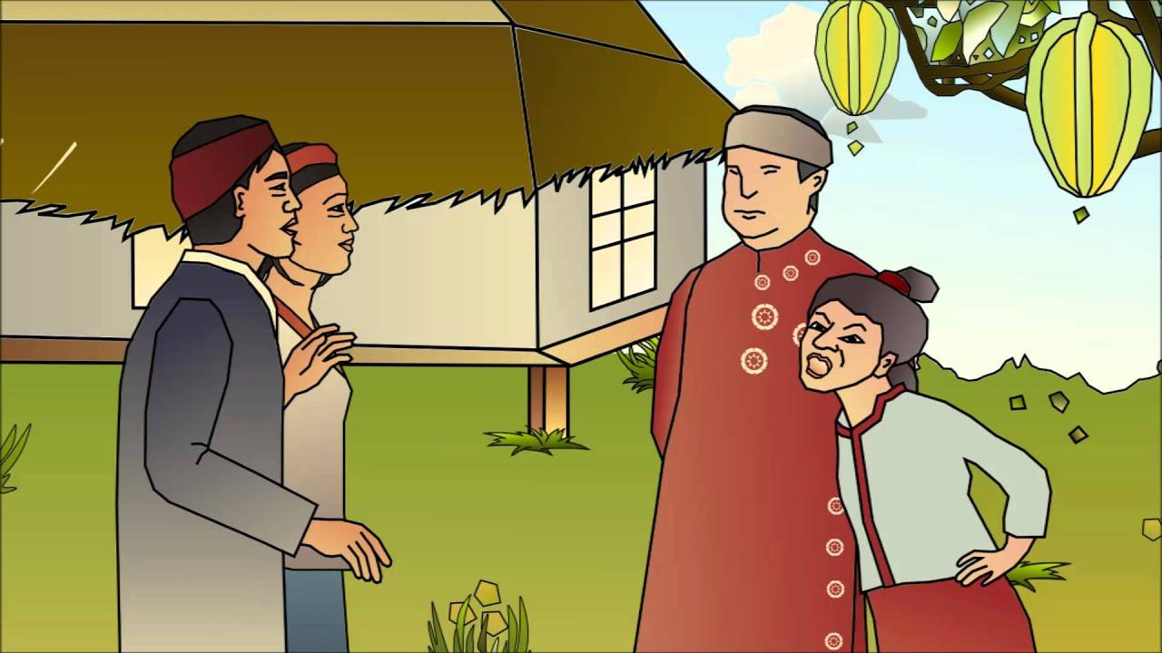 Vietnamese Folktale-The Starfruit Tree - YouTube