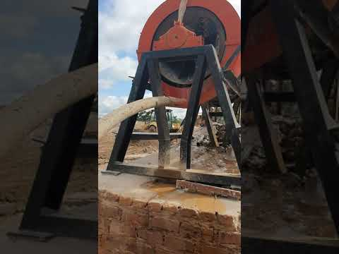 Ball mill with centrifuge concentrate gold mining