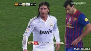 5 Red Cards vs One Club  Sergio Ramos